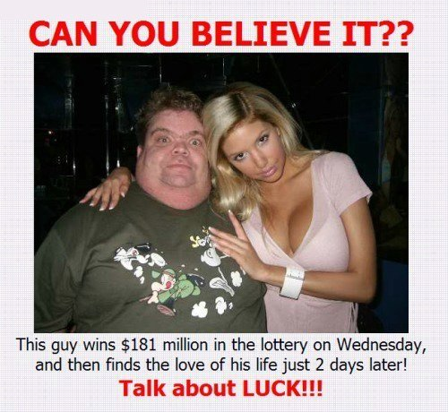 Lucky Rich Man Finds Rich Wife