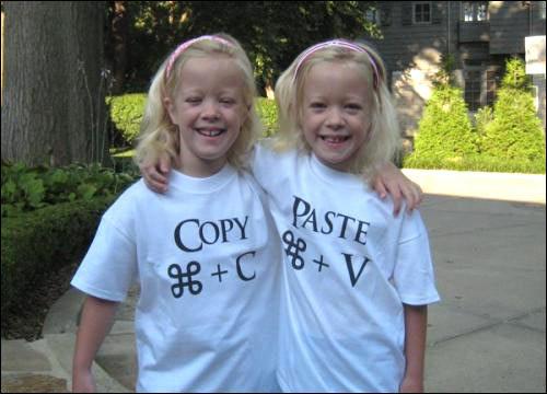 Twin Girls T-Shirt